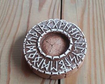 Rune Stand for Scandinavian (Norse) Figurines