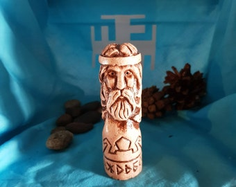 Small Handcrafted Statue of Dazhdbog