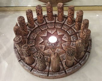 Circle of Svarog Collection Center Piece