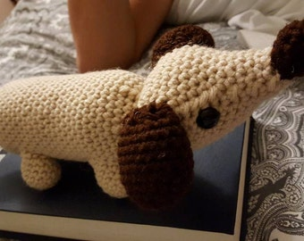 Crochet Wiener Dog