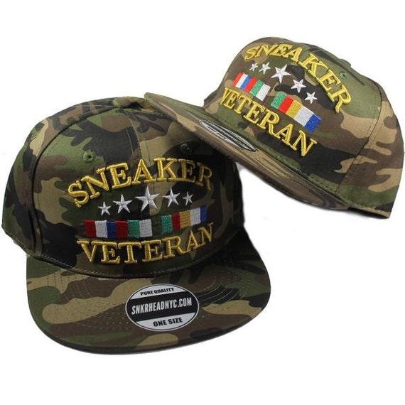 Brand New Sneaker Veteran Camo Snapback Hat jordan basketball  ed8fcc514c9