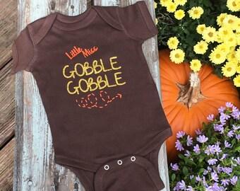 Little Miss Gobble Gobble BODYSUIT