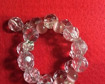 Pink Coil Bracelet