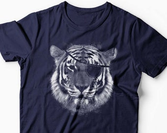 bfe2a0cfe Pirat Tiger Shirt, Tiger Shirt, Tiger t-shirt, gift for Tiger lovers, Big  Cat, Animal lover, Boyfriend t-shirt, Womens tshirt, Gift for Her