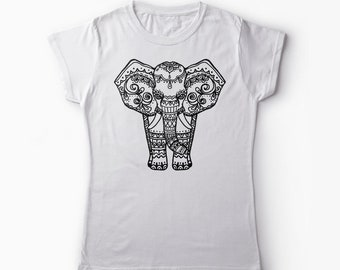 Elephant Shirt Lover Gift Gifts For Her Graphic Animal Birthday Decor
