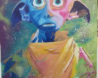 Dabbled Dobby - Original Painting