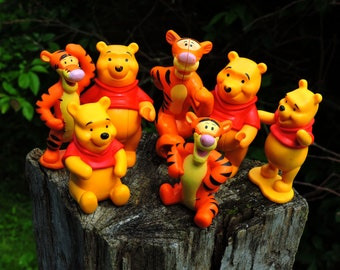 Dollhouse Miniature Winnie the Pooh Wallpaper 1:12 Nursery Eyeore Piglet Tigger
