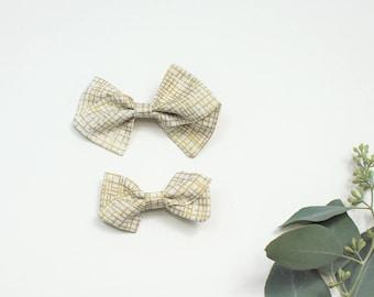 Fabric Pinwheel Bow, Gold Pinwheel Bow, Large Pinwheel Bow, Small Pinwheel Bow, Pinwheel Bow Headband, Pinwheel Bow Hair Clip