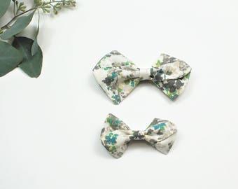 Pinwheel Bow, Floral Pinwheel Bow, Large Pinwheel Bow, Small Pinwheel Bow, Pinwheel Bow Headband, Pinwheel Bow Hair Clip