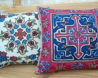 Embroidery Pillow Covers