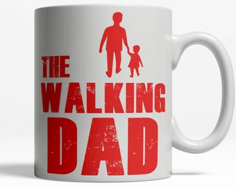 Fathers Day Mug | Zombie Walking Dead  | Birthday Gift for Dad | Fathers Day Gift | Dads are Priceless Coffee Cup  | 11oz Ceramic 138