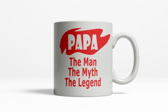 Papa Mug For Birthday Gift Fathers Day