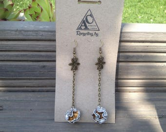 recycled earrings Nespresso capsule