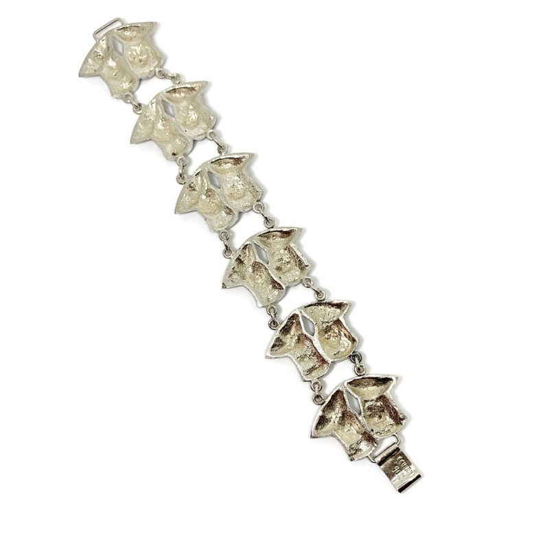 Inca/'s Folkloric Ecuaridian Folk Ethnic bracelet 900 silver