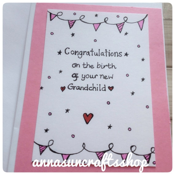 New baby girl granddaughter congratulations greeting card newborn new baby girl granddaughter congratulations greeting card newborn grandparents card and party store m4hsunfo