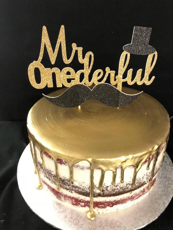 Sensational 1St Birthday Cake Topper First Birthday Cake Topper Mr Etsy Funny Birthday Cards Online Elaedamsfinfo