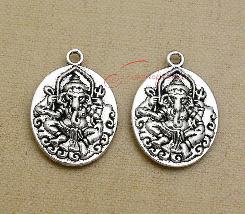 8pcs Heart Charm Tibetan Silver Tone Pendant  Charms Pendants 13x12mm