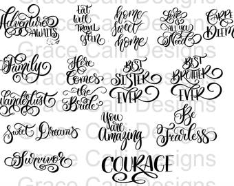 SVG File Quote Sampler (Commercial License Included)
