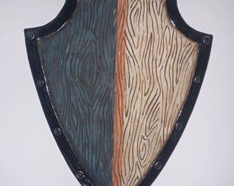 Decorative Hanging Round Shield Etsy