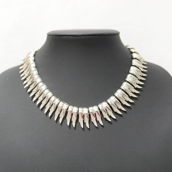 Signed CORO- Necklace - Cleopatra Choker Vintage 1