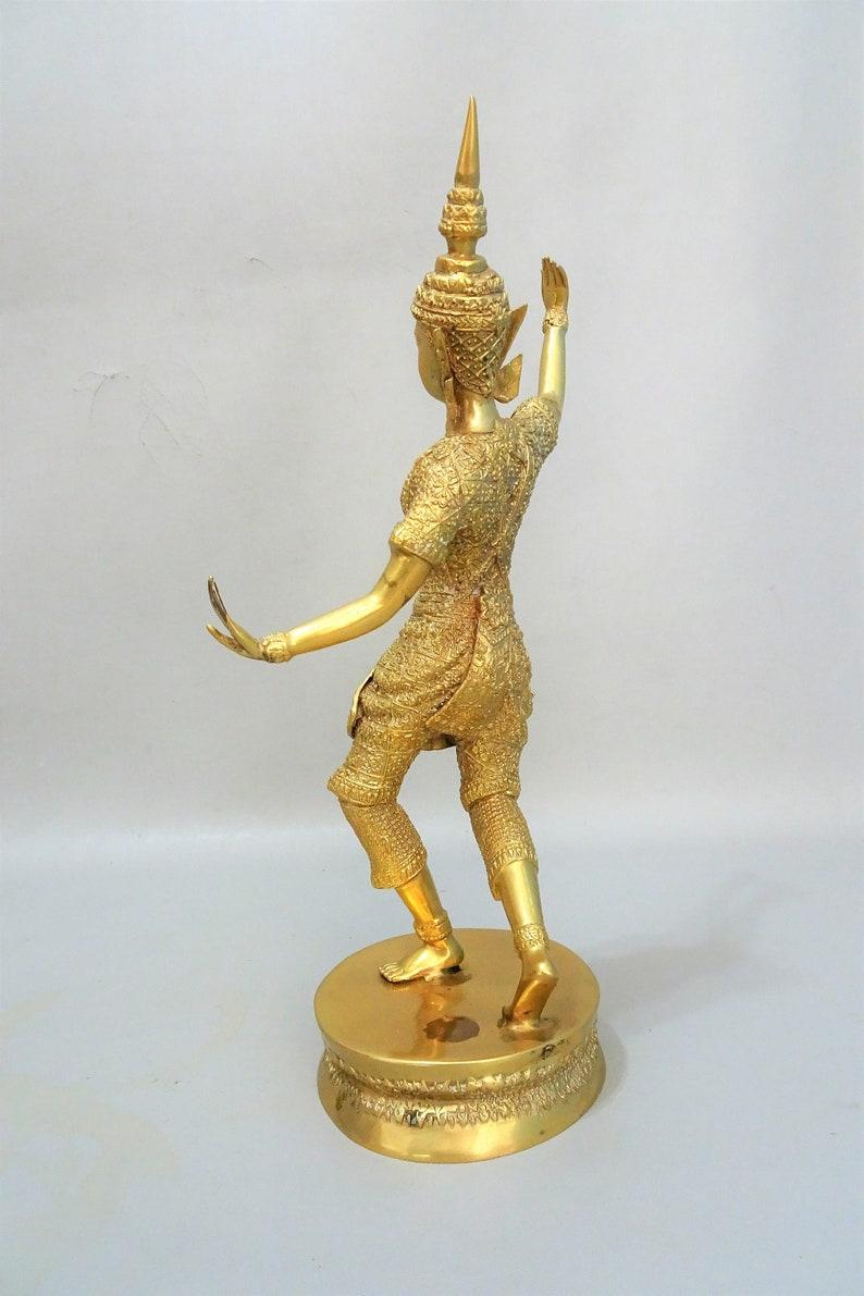 Other Asian Antiques Beautiful Buddha In Bronzo Thailandia Anni 50 Circa