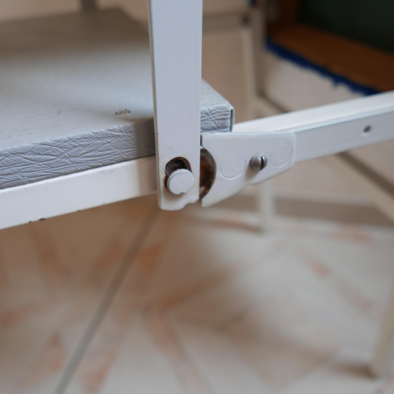 Barra de pie plegable Hocker con escalera de escalera