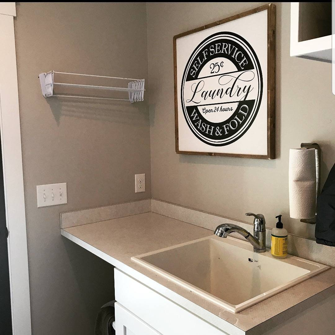 Laundry Room Sign Laundry Room Decor Laundry Sign Farmhouse Sign Laundry Wall Art Farmhouse Decor Mudroom Wall Art Funny Laundry Sign
