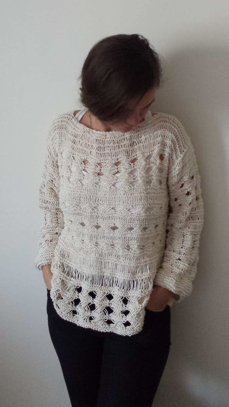 0e99cc0f0fb7 Hand Knit Sweater Pattern knit sweater Hand Knitted sweater