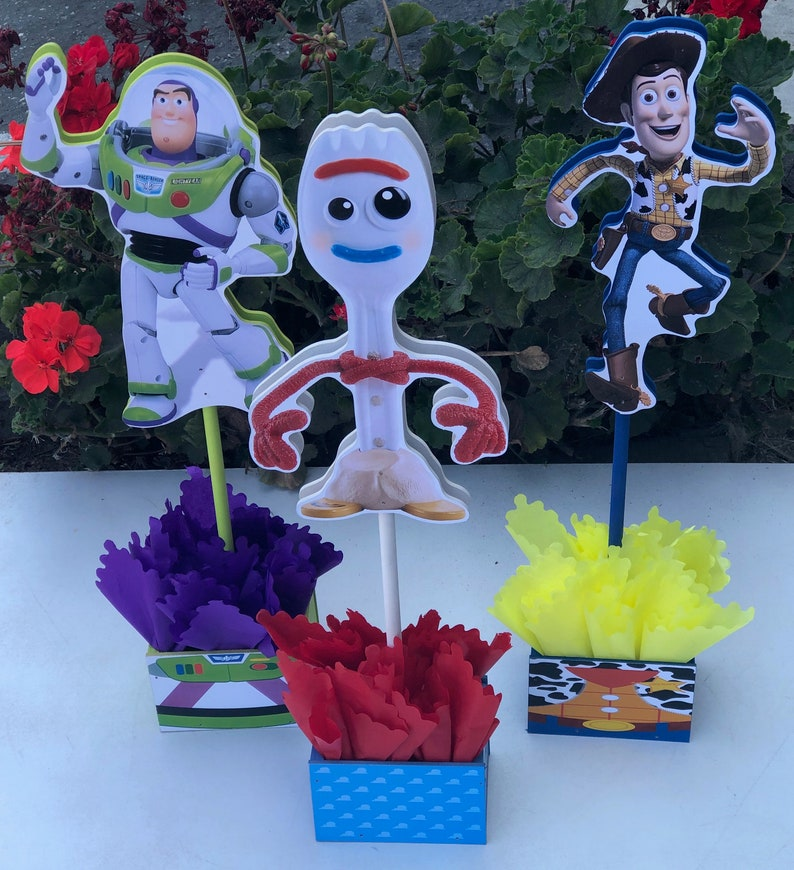 Fabulous Toy Story Centerpieces Toy Story Birthday Decorations Toy Story Buzz Lightyear Decorations Toy Story 4 Price For 1 Piece Forky Inspired B Download Free Architecture Designs Scobabritishbridgeorg