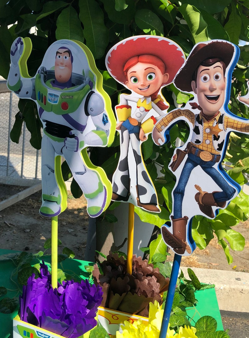 Magnificent Toy Story Centerpieces Toy Story Birthday Decorations Toy Story Buzz Lightyear Decorations Price For 1 Centerpiece Download Free Architecture Designs Scobabritishbridgeorg