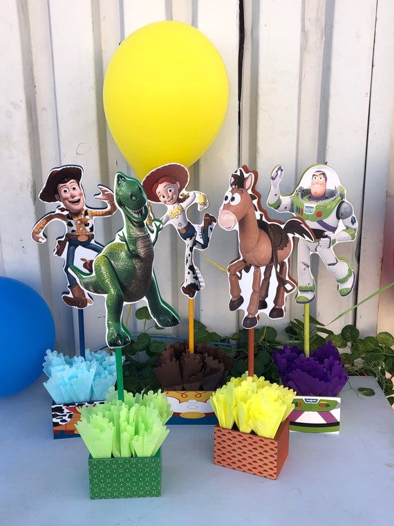 Prime Toy Story Centerpieces Toy Story Birthday Decorations Toy Story Buzz Lightyear Decorations Price For 1 Centerpiece Download Free Architecture Designs Scobabritishbridgeorg