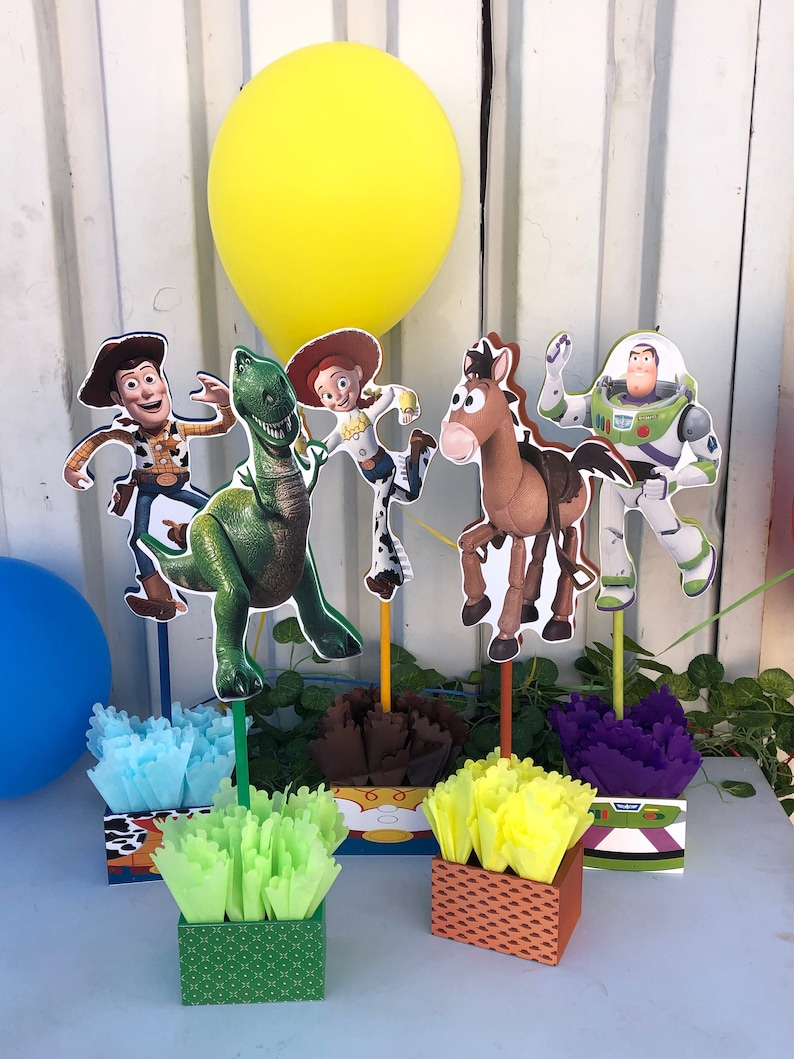 Pleasing Toy Story Centerpieces Toy Story Birthday Decorations Toy Story Buzz Lightyear Decorations Price For 1 Centerpiece Download Free Architecture Designs Scobabritishbridgeorg