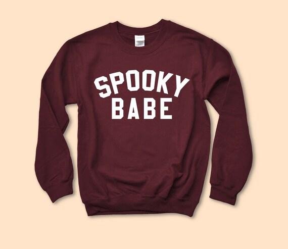 b9149d12998 Spooky Babe Sweatshirt Sanderson Sweater Salem Halloween