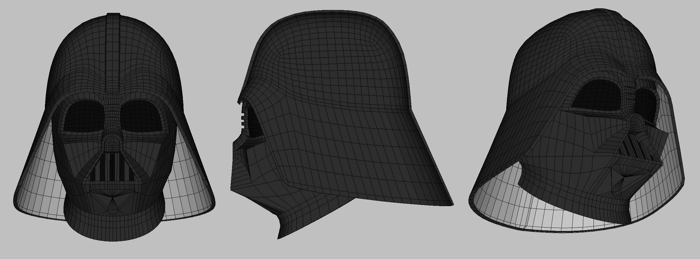 Darth Vader Helmet Etsy