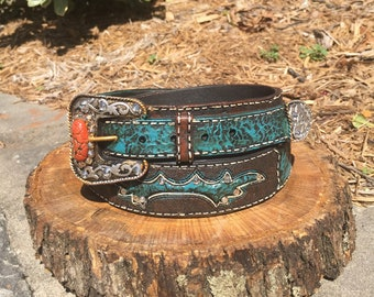 Western Belt Buckle Decor