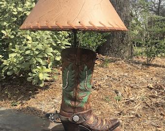 Western Boot Lamp
