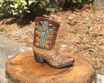 Western Boot Decor