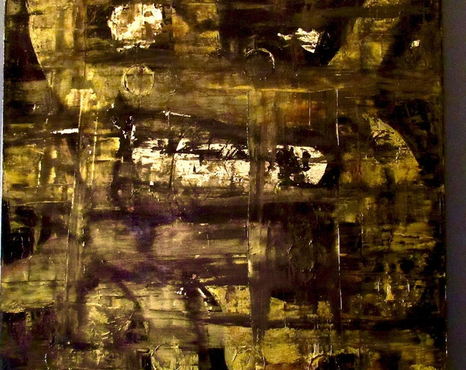"Abstract Painting ""Complicated"""