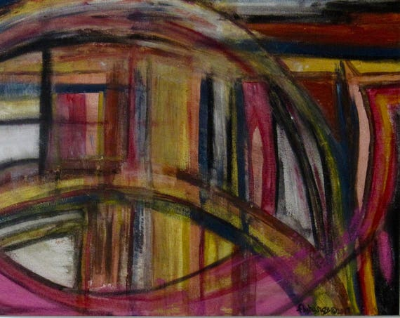 """Abstract Painting """"Whirlwind"""""""