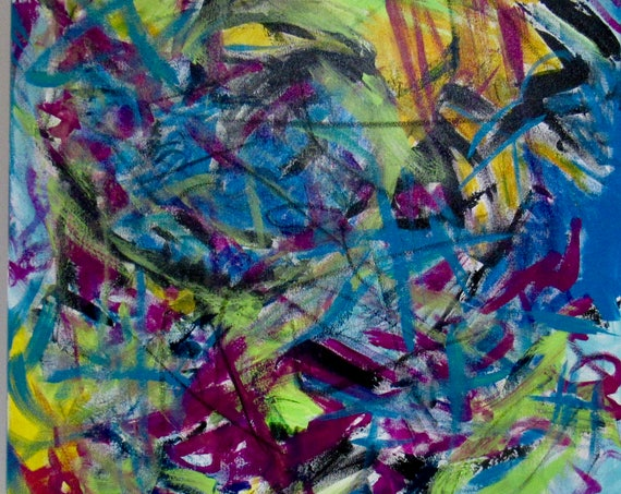 "Abstract Painting ""Splash Me"""