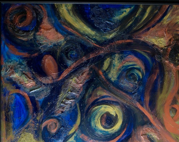 "Abstract Painting ""In the Eye of the Beholder"""