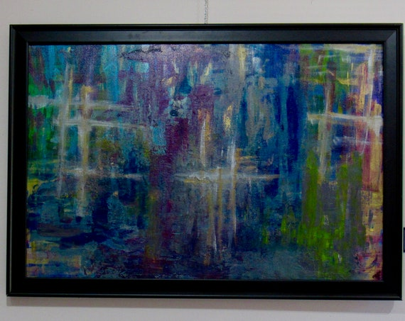"Abstract Painting ""In The Moment"""