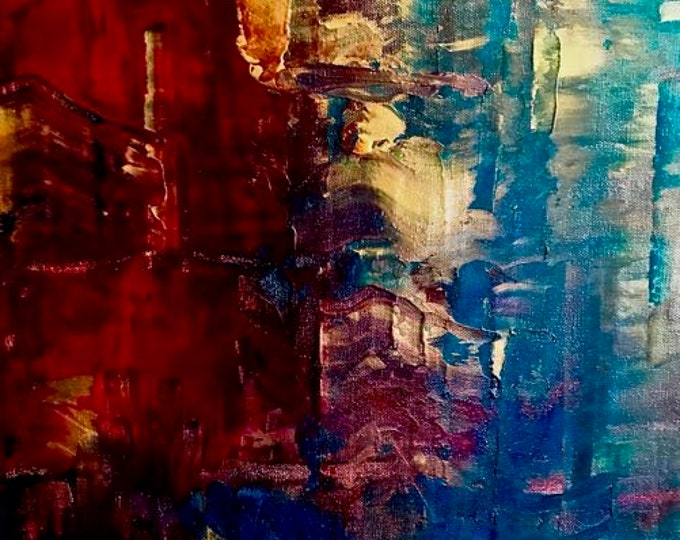 "Abstract Painting ""Fusion"""