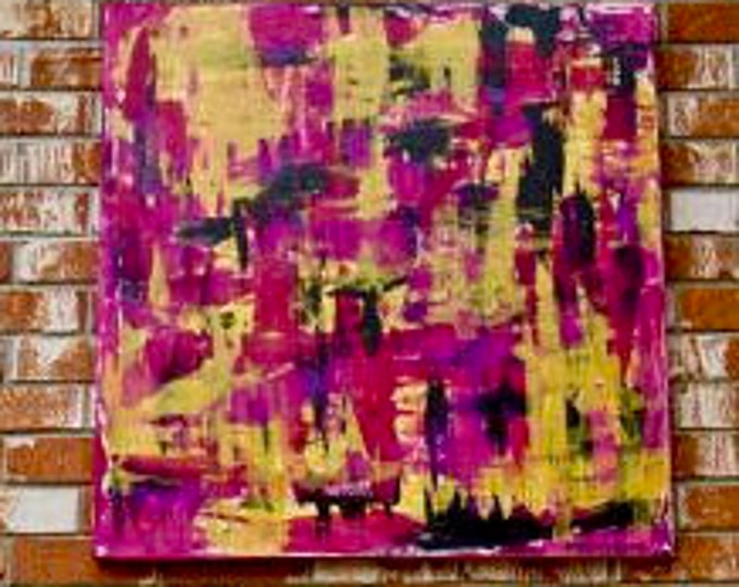 "Abstract Painting ""WIthin Layers 2"""