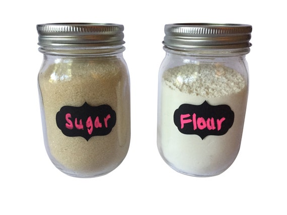 24 chalkboard labels mason jar labels decorative labels etsy