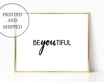 Glam flawless Decor Hashtag Fashion Print Sign Wall Art Prints Signs 11 x 14 Printed Makeup Designer Quote Woman Gift For Her Home Girly