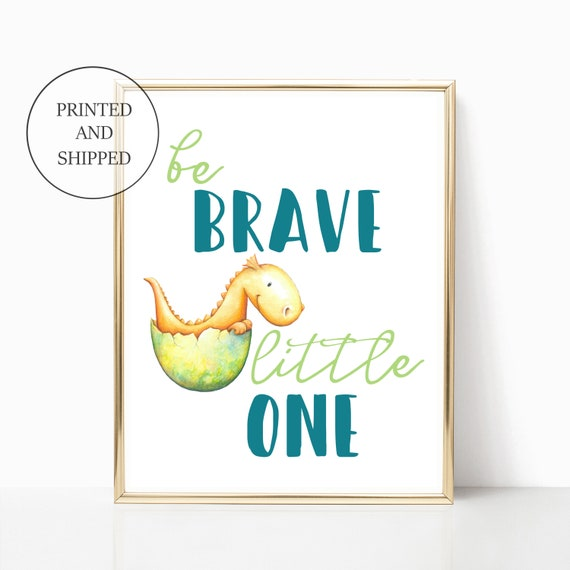 Boy Dragon Nursery Wall Art Prints Adventure Worth Decor Fantasy Print Framed Unframed Prints Matching Sets Green Yellow Little Boys Room