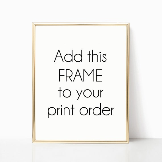 Gold Frame Framing Service Of Prints In Store Printed Print Wall Art Poster Home Decor Frames White Gold Metal Frames Thin Gold Prints Arts