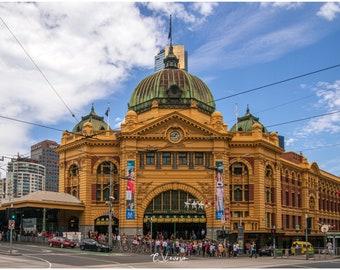 Flinders Street Station - original photograph