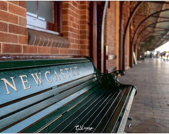 Newcastle Bench - original photograph
